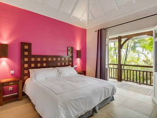 Villa Lagoon - St Barth Sun has 2 equally spacious  2 Bedrooms