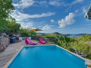 Villa Lagoon - St Barth Sun has 2 equally spacious  2 Bedrooms
