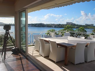 Villa 6 Bedrooms  Up to 12 guests Overlooking Lagoon, St Martin French Side