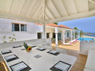Villa Zephirine 5 BD up to 10 guest Pelican Key - St Maarten +Free rent Car, Baie de Simpson