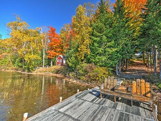 Pondside 3BR Sangerville House w/Private Dock