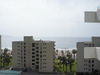 Vista a la playa  desde terraza del depto