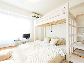 Airy room★Good location-Matsuyamachi/1-4people