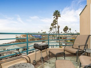 Beach Views From Balcony & BR, 3BR 901 S. Pacific