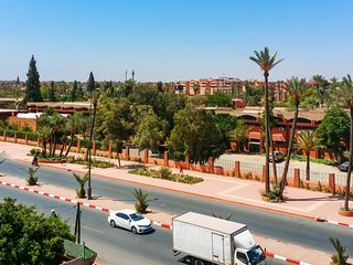 Apartment with wonderful city view, Marrakech