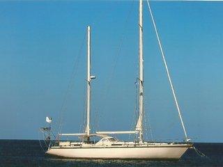 cabine d'hôte sur un voilier