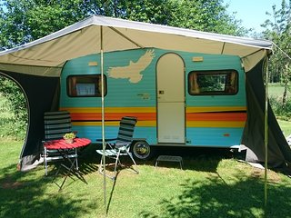 Retro caravan, Drouwen