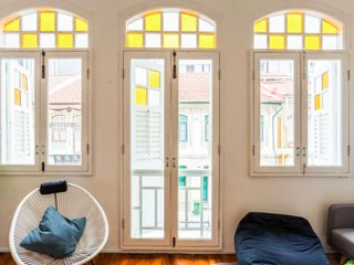 Copenhagen Room in WSJ Featured Heritage Shophouse, Singapur