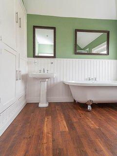 The Bathroom (with rolltop bath)