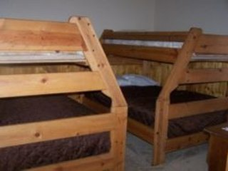Two Twin Over Full Bunk Beds Downstairs