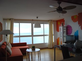 Hanging apartment over the bay, Alicante