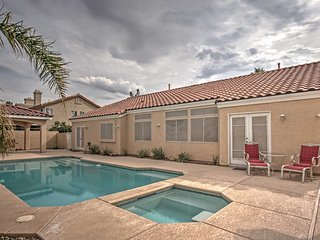4BR Las Vegas Home w/Private Pool & Spa!