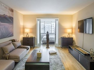 Furnished 1-Bedroom Apartment at Columbus Ave & W 100th St New York, Nova York