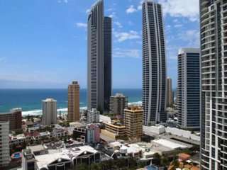 Towers of Chevron Renaissance 2 Bedroom Ocean View, Surfers Paradise