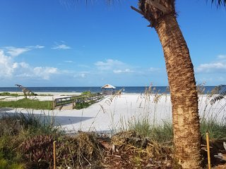 Condo Beauty on the Beach, white sand oceanfront.
