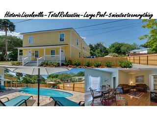 Historic Downtown - Pool - Immaculately kept  - Sleeps 6, Saint Augustine