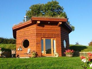 SAPPH Log Cabin in Aberaeron, Cribyn