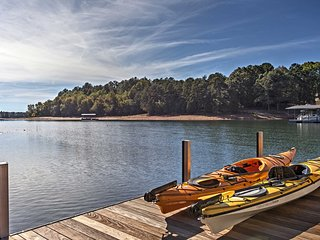 NEW! 5BR Anderson House on Lake Hartwell w/Dock