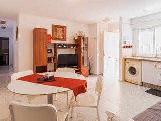 Apartamento en la PLAYA a tres minutos andando con WIFI gratis e ilimitado