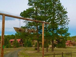 3 Level Log Home with Sauna & Views!, Pagosa Springs