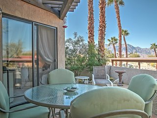 1BR+Loft Borrego Springs Casita w/ Mountain Views!