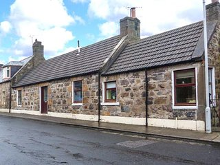 THE HAMELY HOOSE, ground floor bedroom, pet-friendly, decked terrace, short walk