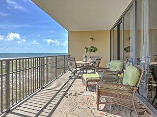 Beachfront 2BR Dauphin Island Condo w/ Amenities & Views!
