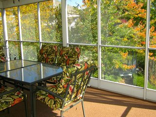 Screen Porch View - Recliners - Only 4 Steps- Golf- Fireplace |Pointe Royale