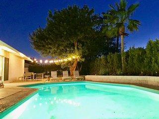 Palm Springs Midcentury Modern Pool Home