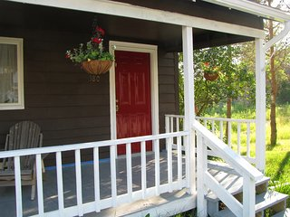 Adk Red Door Cottage - Clean, Cozy, Walk to town
