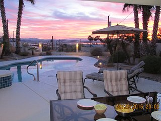 Beautiful double master suit sunset view property