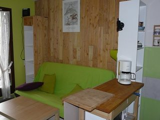 Appart station ski Monts d'Olmes, 4-6 couchages