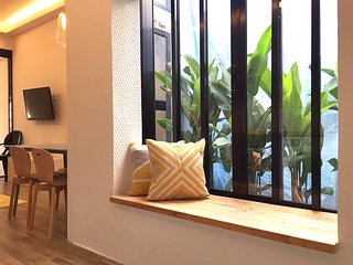 Gorgeous City Apartment in Tiong Bahru, Singapur