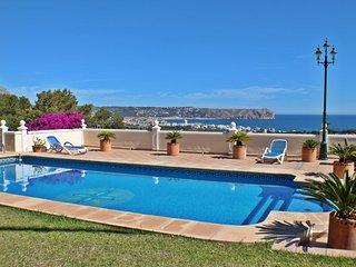 Javea,Holiday Home,private pool,fabulous views ,7p