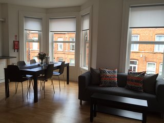Modern apartment in Queens Quarter, Belfast