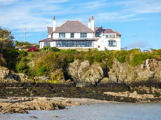 ANGORFA, character holiday cottage, with a garden in Cemaes Bay, Isle Of
