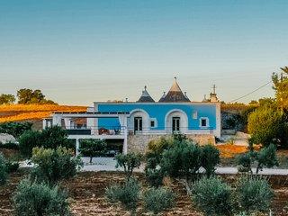 Trulli Porta Blu - MaterDomini: villa pool