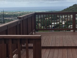 Apartment with great view from front deck, Kapolei