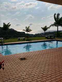 Most beautiful communal pool with ocean view - baby pool as well. Adult supervision required pls