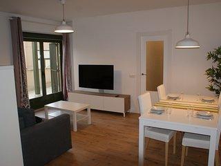Estupendo piso de 2 habitaciones en el centro