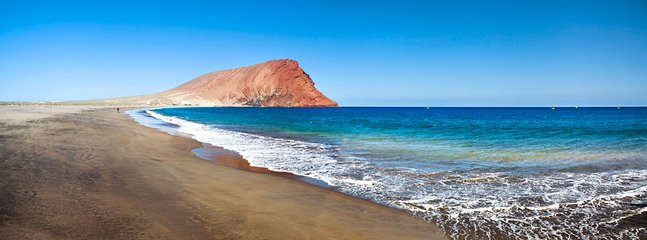 Tejitas beach El Medano