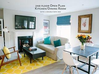 2nd floor Open Plan Kitchen / Dining Room