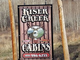 Kiser Creek Cabins 7 quaint cabins and lodge located on the Grand Mesa