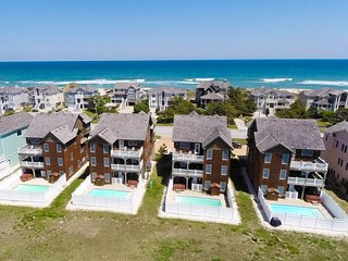 Oc view, upscale 8 bdm, elevator,pool,partial wks, Nags Head