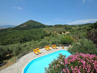Hilltop Country House with pool in Tuscany, Monsummano Terme