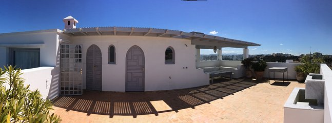 Another view of the terrace roof ..