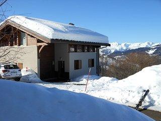 La Plagne Chalet 4 epis au bord du domaine skiable