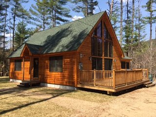 Bartlett Log Home - Brand New & 1 minute from Attitash, Glen