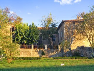 Traditional, 2-bedroom house near Allemagne en Provence with a furnished terrace and verdant garden!