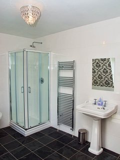 Luxurious top floor family bathroom